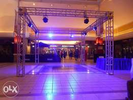 staging, trussing & lighting services