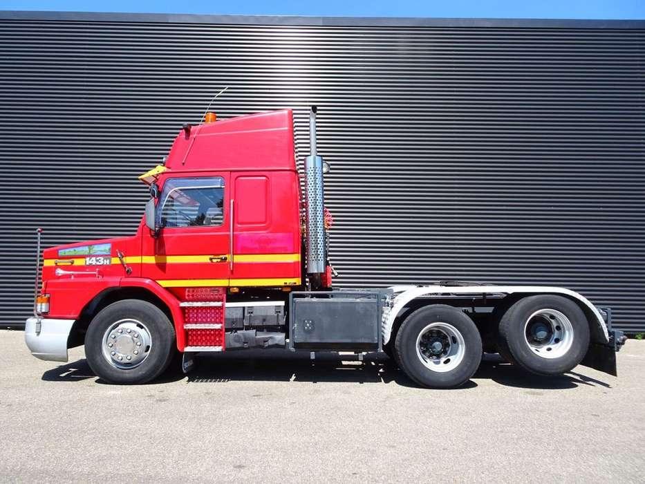 Scania T 143H 450 V8 / 6X2 TORPEDO / HAUBER / T-CAB - 1990 - image 3