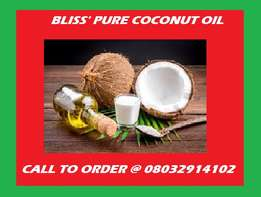 Bliss' Pure Coconut Oils (Vigin oil, no additives)