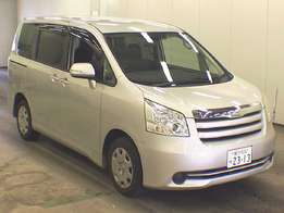 Toyota noah cash or hire purchase