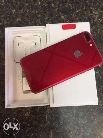 iphone 7 plus 256 gb complete accessories full red edition original