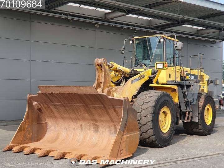 Komatsu WA500-6 German dealer machine - 2006