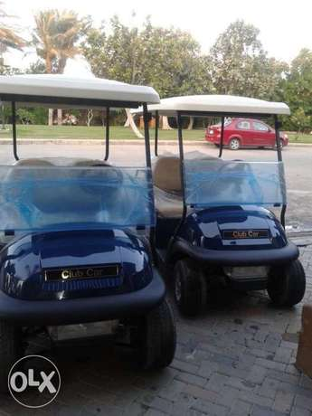 golf cart . club car