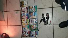 Ps2 with 60 games and singstar and buz