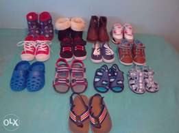 13 Pairs of Baby Boy Shoes.