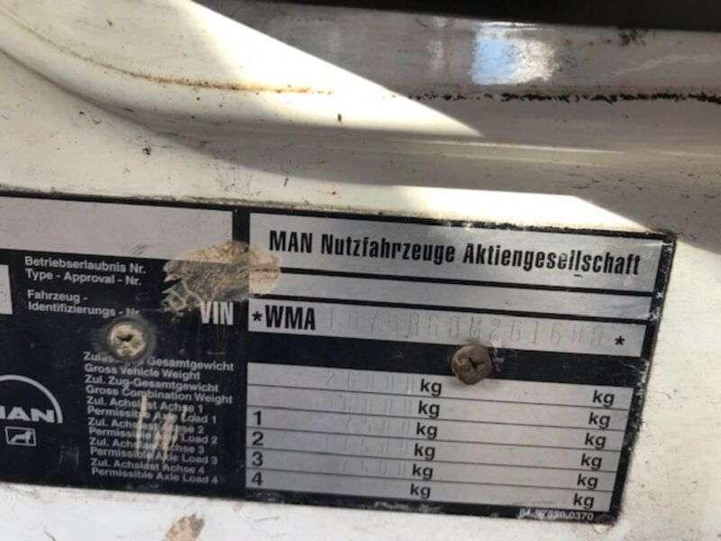 MAN Tga26.480 6x2 Mkg Kran Hlk351 A6 - 2005 - image 14