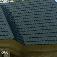Stone coated steel roofing tiles