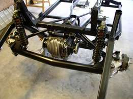 Jaguar XJ 6 suspension & diff