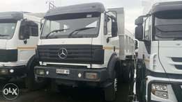 Mercedes PowerLiner 10 Cube Tipper Available