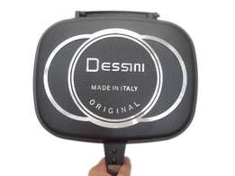 Fry anything with this amazing Dessini double grill