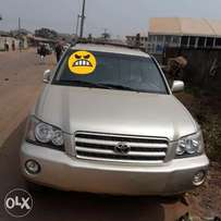 Toyota highlander 2002 model tokunbo