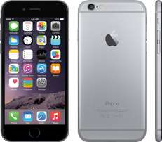 Cheap Apple iPhone 6 - 128gb Plus Free Charger - Silver Used