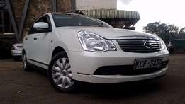 Very well maintained white Nissan slyphy 2008 model 1500cc