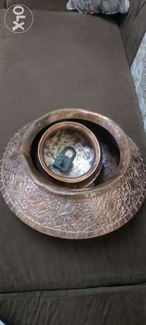 Antique big copper pot