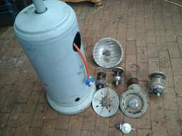 Big Outdoor GAS HEATER and Accessories