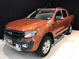 2014 Ford Ranger 3.2TDCi Wildtrack 4x4 Auto Double cab bakkie