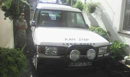 For sale Land Rover station wagon