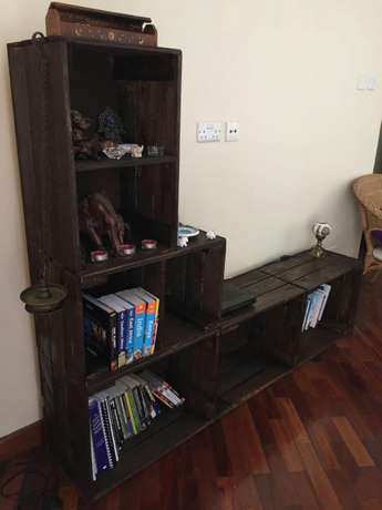 Entertainment/bookshelf stand Ngara - image 3