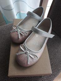 bd467bfd Półbuty baletki nelli blu 26 różowe CCC