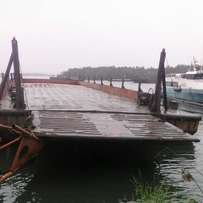 1000 MT Ramp barge for sale