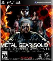 Ps3 Game Metal Gear V:Phantom Pain