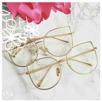 Dior transparent eyeglass