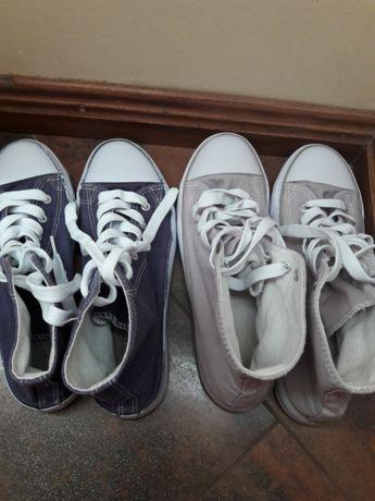 Trampki do kostki obuwie buty jak nowe 39 40 idealne do
