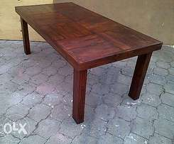 Patio table Farmhouse series 1870 Stained