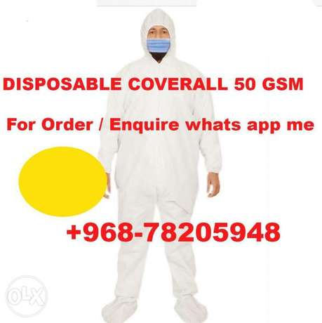 Coverall Disposable 50 GSM