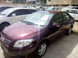Toyota Axio Red 2010