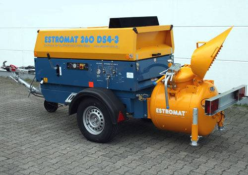 Pump estromat 260 ds4-3 estrichmaschine betone  stationary - 2019