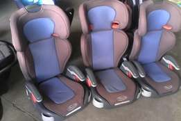Graco booster seats 15-36kgs