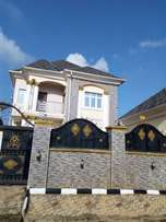 Six bedrooms duplex at Apo resettlement.