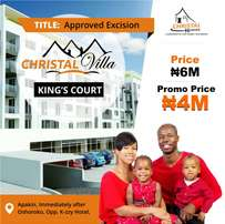 Own a land in our Estate