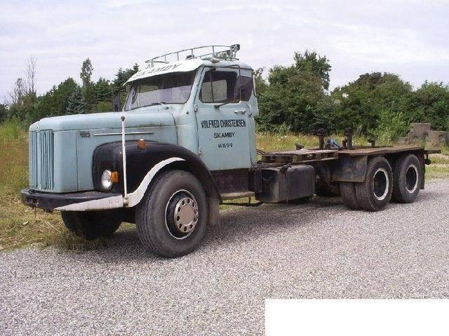 Scania LS 110 6x2 Veteran Torpedo Gestell - 1971
