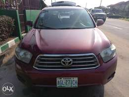 Used toyota Highlander 2008 model