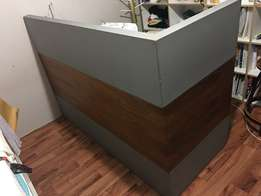 receptionist table for sale