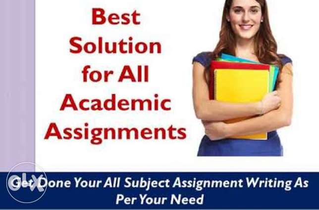 All subject Assignments and project writing services available kuwait