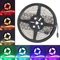 5M 5050 SMD RGB LED STRIP LIGHT With power supply, remote.only R299