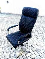 Executive office chair pure leather