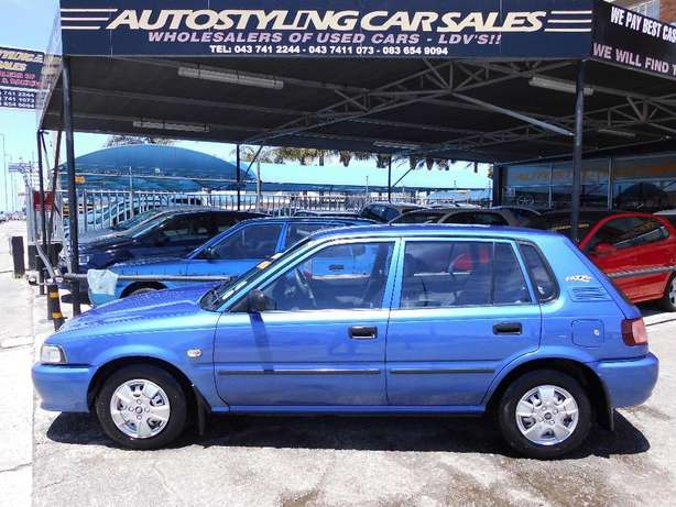 Autostyling Car Sales - East London-01 Toyota Tazz 130 immaculate cond East London - image 1