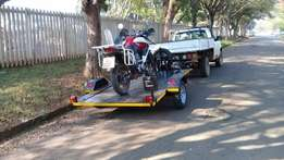 Lowering bike trailer for sale