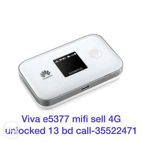 viva mifi 4G unlocked sell 13 bd