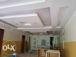 Gypsum services,wardrobe& kitchen cabinets