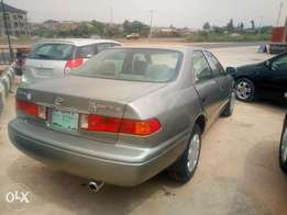 2001 Toyota Camry few months used