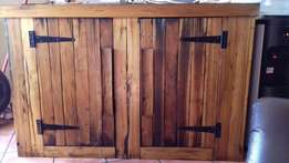 For Sale TV Cabinet and Wine Rack