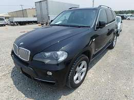 BMW X5 4.8I 2009 Model Automatic Transmission 4WD Black