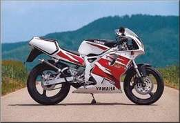 WANTED Two stroke road bike TZR125