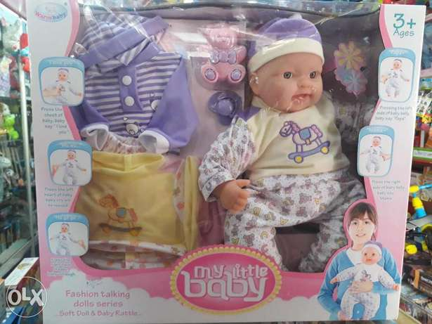 fashion talking doll for kids.offer