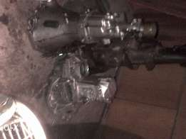 Nissan 5speed gearboxes in good raning cnd